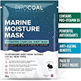 Sheet <span class='highlight'>Masks</span>, Face Sheet Mask Set (3 Face<span class='highlight'>masks</span>) by PROCOAL - <span class='highlight'>Moisturising</span> Sheet Mask For Men & Women, Better Than Korean Face Mask Sheets, Vegan | Formulated in UK (Marine Moisture Sheet Mask)