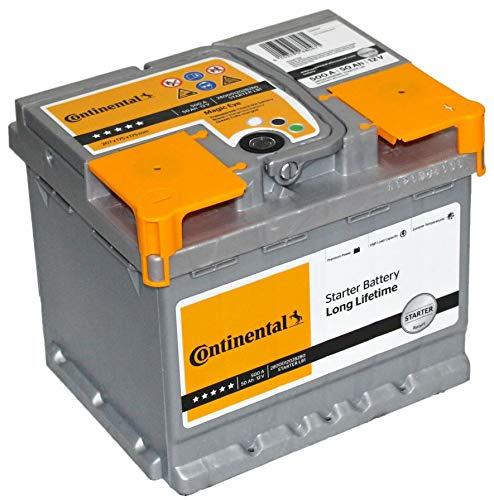 Autobatterie Continental -12V 50Ah 500A