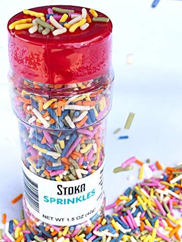 Stoka Keto Rainbow Sprinkles – Sugar Free Low Carb
