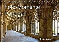 Foto-Momente Portugal (Tischkalender 2022 DIN A5 quer): Lissabon, Nazare, Obidos und grossen Klosteranlagen (Monatskalender, 14 Seiten )