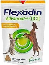 Vetoquinol Flexadin Advanced with UC-II for Dogs & Cats, 60 Chews