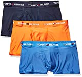 Tommy Hilfiger Men's Underwear Everyday Micro Multipack Trunks, Flame (Multi 3 Pack), M