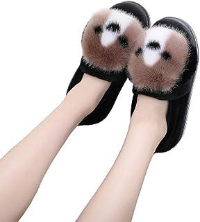 SHJMANSY Cute Zapatillas Peluche De Mujeres - Lindo Perrito Pantuflas - Regalo Zapatos por Casa - Adultos Y Niños Regalo