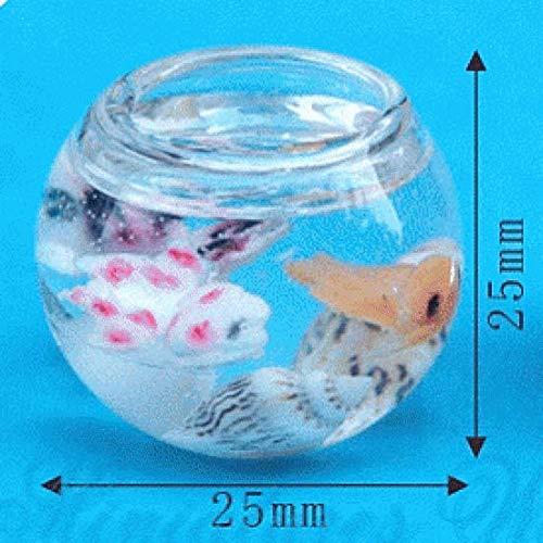 Miniatures World - Glazen aquarium voor miniatuurdecors en poppenhuizen in schaal 1:12