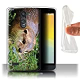 Stuff4 Phone Case for LG L Bello/D331 Cute Baby Animal