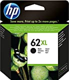 HP 62XL C2P05AE Cartuccia Originale per Stampanti a Getto d'Inchiostro, Compatibile con Stampanti HP Envy All in One 5540, 5642, 5644, 5742, 7640, l'Officejet 5740 e l' Officejet Serie 200, Nero
