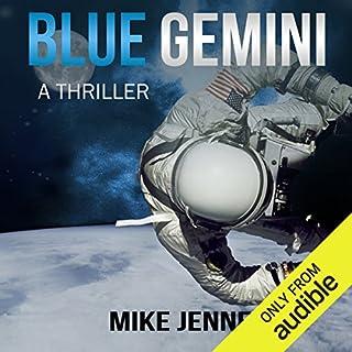 Blue Gemini audiobook cover art