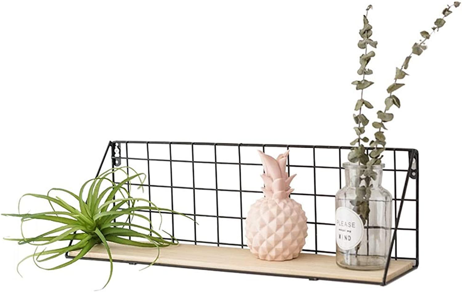 Rack Storage Wall Decoration Home Room Wall Wrought Iron Storage Rack