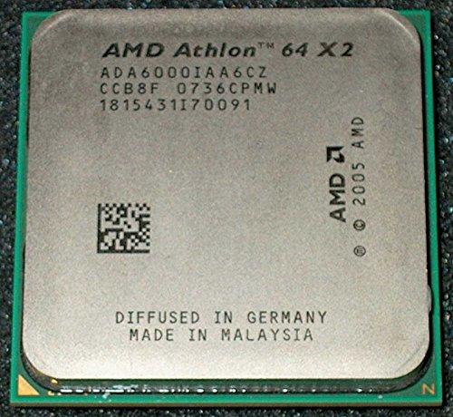 AMD Athlon X2 Dual-Core 6000+ 3GHz 1MB L2 - Procesador (3 GHz,...