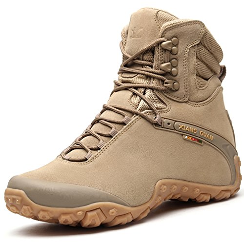 Xiang GUANNeu,Mode,Professional,Outdoor,Sport Stil - Zapatillas Altas Hombre, Color Beige, Talla 39