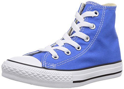 Converse Unisex – Bimbi 0-24 Chuck Taylor All Star Hi scarpe sportive blu Size: 24