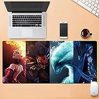 大型游戏鼠标垫 DOTA2 键盘垫鼠标垫大型时尚动漫漫画游戏防水防滑-900X400X3MM-A_900X400X3MM