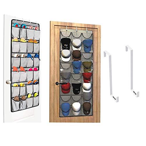 Complete Organizing Bundle, Cap Organizer, Over the Door Shoe Organizer and Over Door Hooks