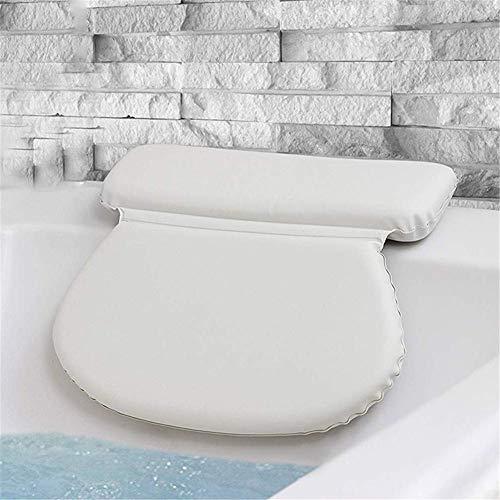 Badkussen - Badkuip Spa Kussen voor nek-, schouder- en hoofdsteun - Hot Bath Tub and Jacuzzi Wedge - Zachte waterdichte hoofdsteun met zuignappen