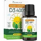 Vitamin D3 Baby Drops | 400 IU | 9.2 mL | Vegeta