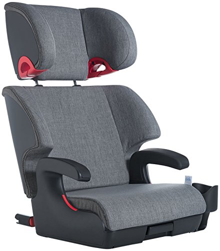 Product Image of the Clek Oobr High Back Booster Car Seat with Recline and Rigid Latch, Thunder