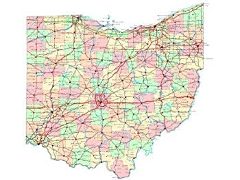 Best county ohio map Reviews