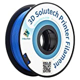 1.75mm real blue pla filament For common 3d printers such as makerbot, RepRap, afinia, up, Mendel, flash forge, solidoodle 2, printrbot lc, makergear m2 and etc. Temperature range is 190 degree C - 220 degree C