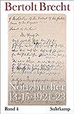 Notizbücher 13-15: Band 4: 1921-1923
