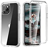 XQ-HD Compatible for iPhone 12 Case, iPhone 12 case with Built-in Screen Protector, Full-Body Protection Heavy Non-Slip Shockproof Anti-Scratch Rugged Case for iPhone 12 6.1 inch (2020).