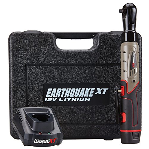 "Earthquake 12V Max Lithium 3/8"" Cordless Xtreme Torque Ratchet Wrench Kit"