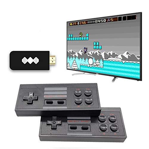 Consola de juegos retro, consola de videojuegos incorporada 620/818 Juegos clásicos con...