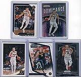 Nikola Jokic Denver Nuggets Assorted Basketball Cards 5 Card Lot