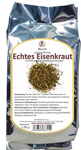 Eisenkraut -(Verbena officinalis, Echte Eisenkraut, Taubenkraut, Katzenblutkraut, Sagenkraut, Wunschkraut) - 50g