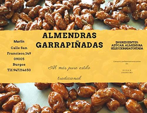 Almendras Garrapiñadas Selectas Especial 1 Kg.Cad.10 meses