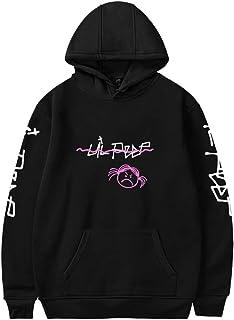 OLIPHEE R.I.P. Lil Peep Rapper Felpa con Cappuccio Stampato Lovers Cool Pullover per Donna