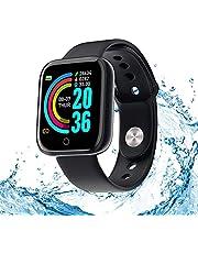 Smartwatch, activiteitstracker, hartslag- en slaapmonitor, 1,3 inch touch-fitnesstracker, waterdicht, sport, calorieënteller, waterdicht IP67