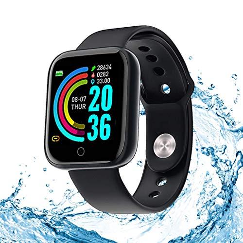 Reloj inteligente, monitor de actividad, monitor de frecuencia cardiaca y sueño de 1,3 pulgadas Touch Fitness Trackers, contador de pasos, contador de calorías impermeable IP67 monitor mujeres hombres