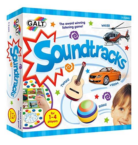 Kuenen 20333 - Soundtrack-Spiel mit CD, Geräusche des Alltags