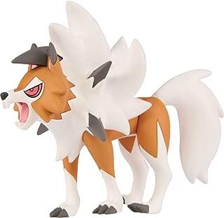 Takara Tomy Pokemon Moncolle EX ESP_15 Lycanroc Dusk Form (Lougaroc Forme Crépusculaire)