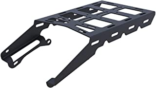 Cargo Rack Luggage Carrier Utility Rear Tail Holder Black Powdercoat fits: 08-16 Yamaha XT250 - Immix Racing - 100-005-black