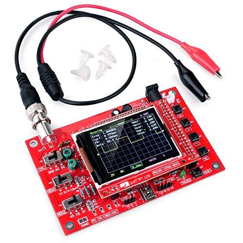 "Longruner 2.4"" TFT Digital Oscilloscope Kit Open Source 1Msps with Probe Assembled vision 13805K"
