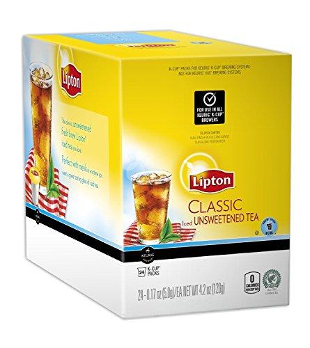 Lipton K-Cup Classic Unsweet Iced Tea, 96 Count