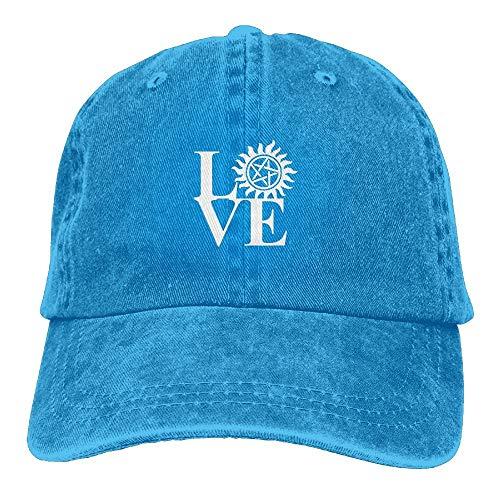 N / A Shade Hat,Gorra De Béisbol,Classic BB Cap,Sports Denim Cap Love...