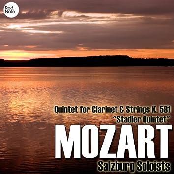 "Mozart: Quintet for Clarinet & Strings K. 581 ""Stadler Quintet"""
