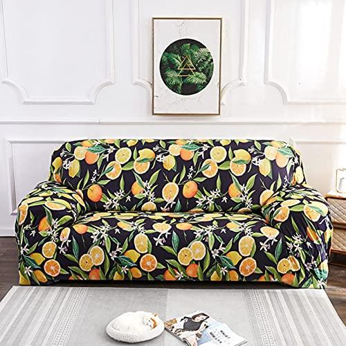 yunge Bohemia Elastic Slipcovers Sofa Universelle Sofabezug Cotton Stretch Schnittsofabezug für Home-Color 13,3-Sitzer 190-230cm