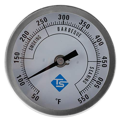 Yihaifu Termometro di Cottura Dial Impermeabile Barbecue termometro da Cucina termometro a quadrante Alimentari Portatile della Cucina di Temperatura Gauge
