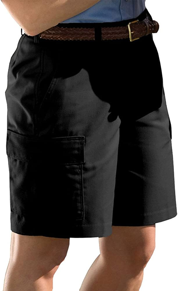 Edwards Free shipping on posting reviews Women's Cargo Short 9 9.5 gift BLACK Inseam Inches 26W