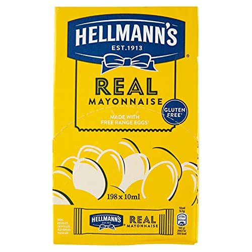 Hellmann's Mayonnaise Portion Sachets – 1x198x10ml