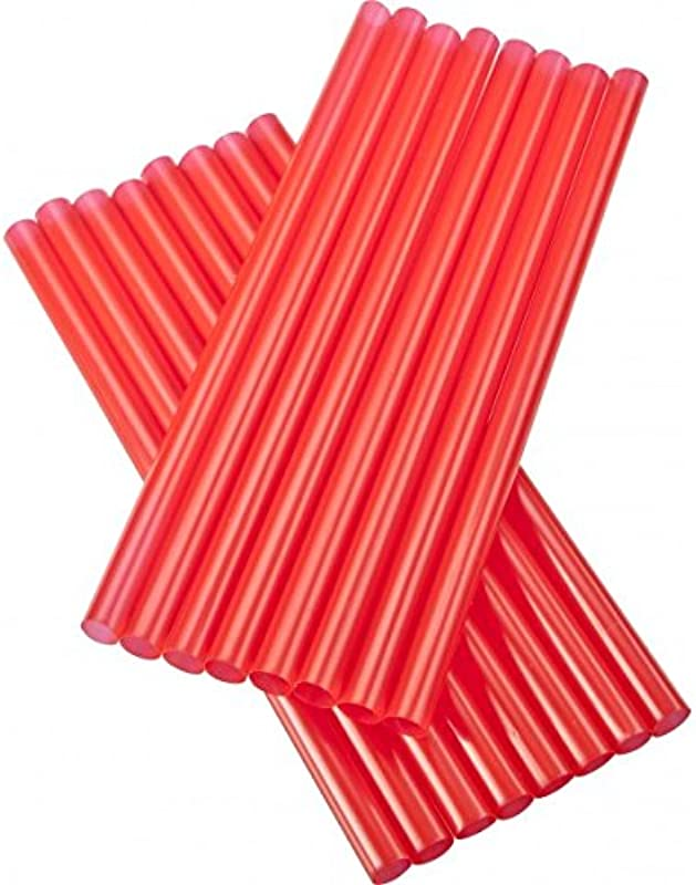 Straw GIANT Or Smoothie PACK Of 100 Red 12 Inch Wrapped D W Fine Pack