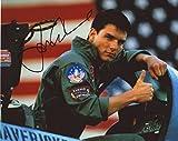 Tom Cruise - Top Gun Signiert Autogramme 25cm x 20cm Foto