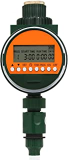 """Goolsky Outlet Programmable Hose Faucet Timer With Rain Sensor 3/4"""" 1/2"""" Tap Automatic Water Gateway Garden Irrigation Dig..."""