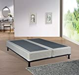 Continental Sleep, 8-inch Fully Assembled Split Box Spring/Foundation For Mattress, Queen Size
