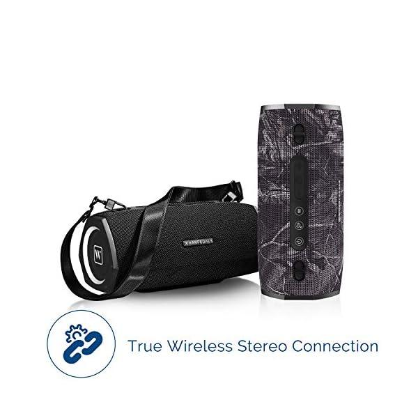 Waterproof Bluetooth Speaker, TWS Wireless Speaker with 45W Powerful Bass, Rugged Speaker with 15000mAh Battery, HD Speakerphone, Powerbank for Party Outdoor Camping … 6