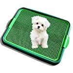 Klean Paws Indoor Dog Potty, No Torn Potty Pads! Keep Paws Dry!