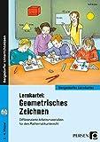 Lernkartei: Geometrisches Zeichnen: Differenzierte Arbeitsmaterialien für den Mathematikunterricht (2. bis 4. Klasse): Differenzierte ... den inklusiven Unterricht (2. bis 4. Klasse)